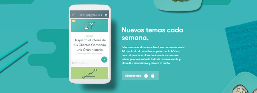 google primer para aprender marketing online