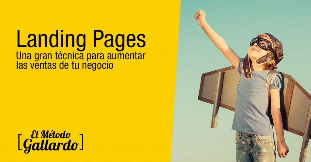 landing pages aumentar ventas