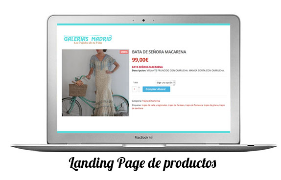 landing pages para captar datos