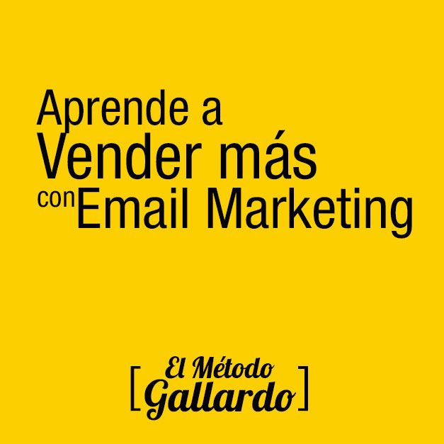 email marketing tecnicas de ventas online