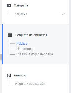 segmentar publico en facebook