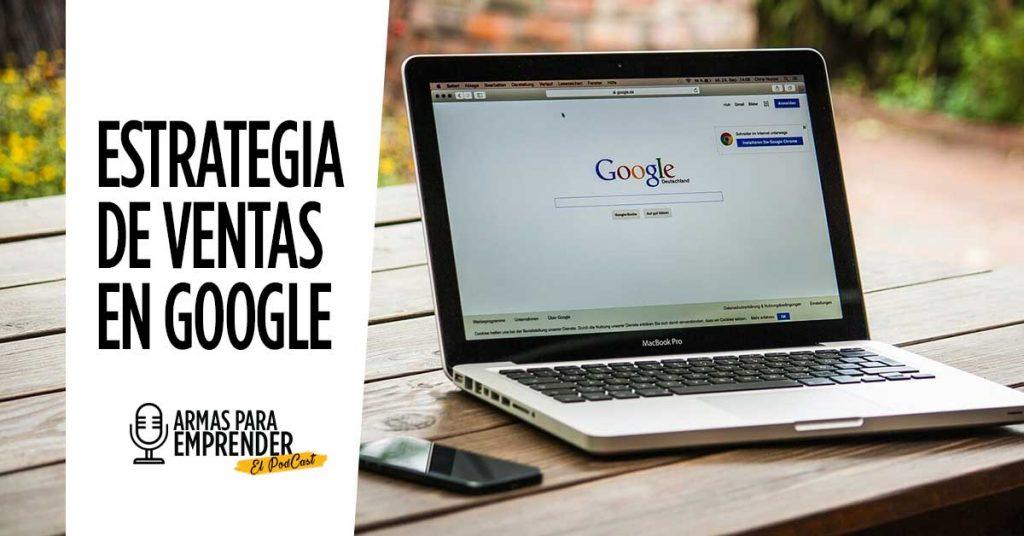 Estrategia de ventas en Google