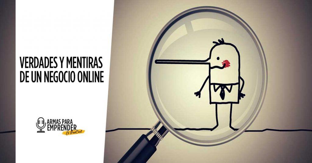 Verdades y mentiras de un negocio online