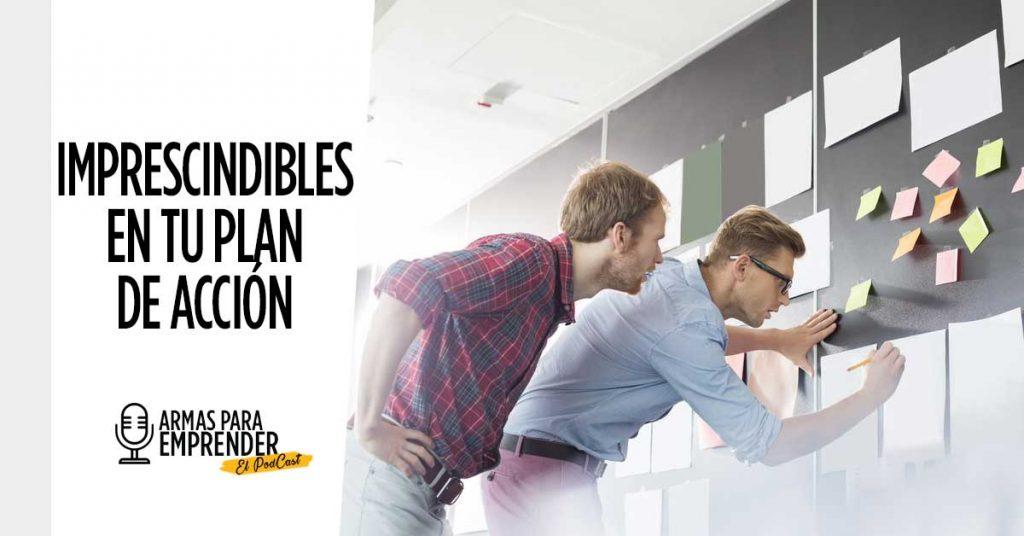 Imprescindibles en Tu Plan de Acción