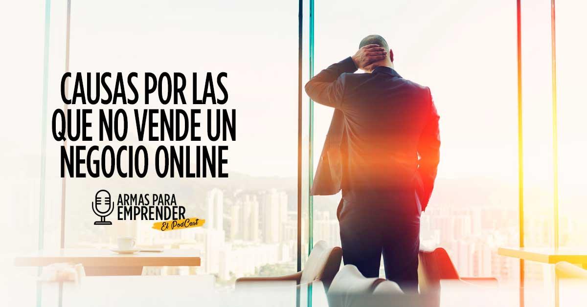 Causas por las que no vende un negocio online