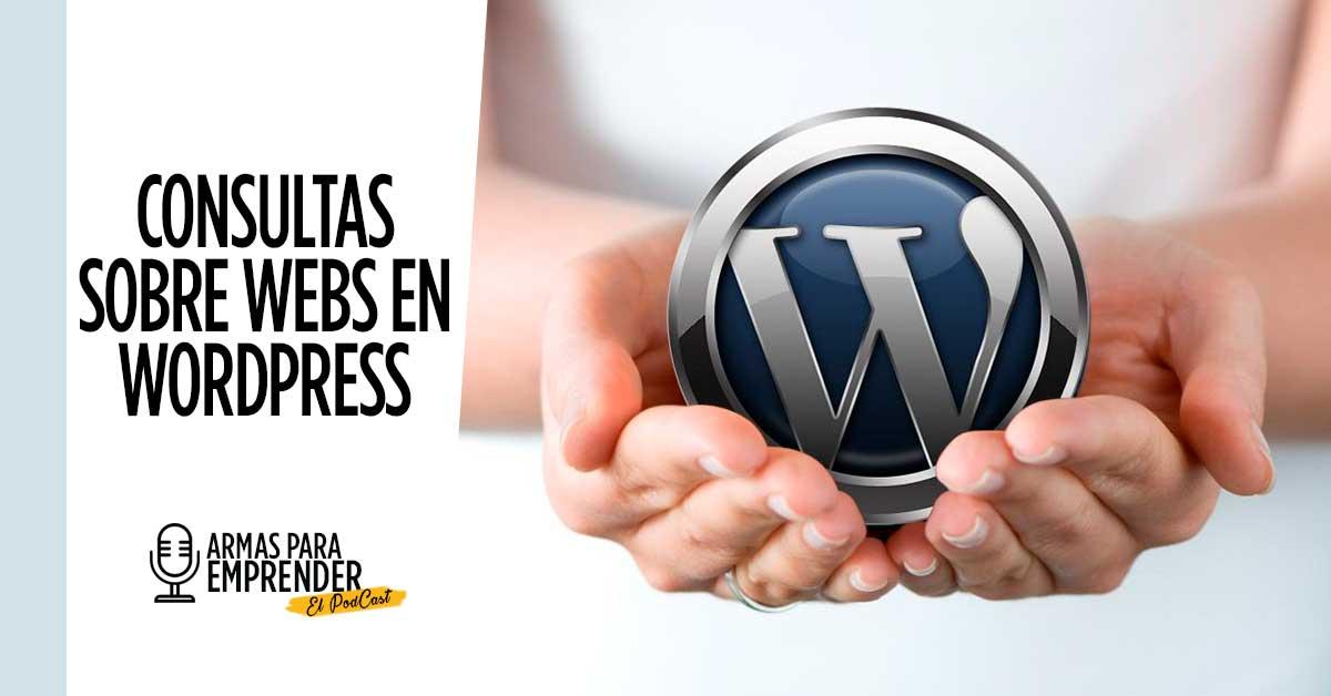 resolver dudas de paginas web con wordpress