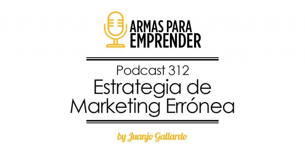 estrategia de marketing erronea