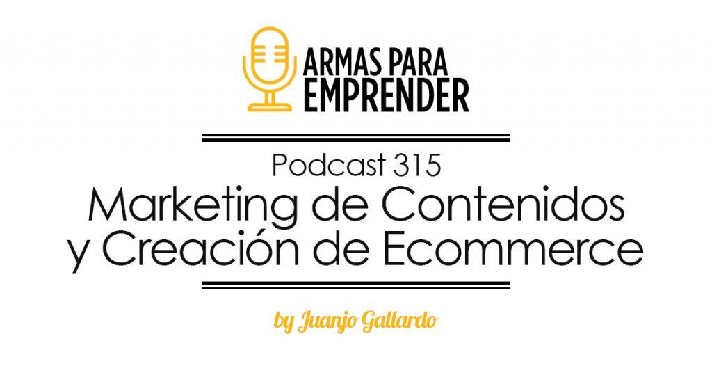 marketing de contenidos y creación de ecommerce