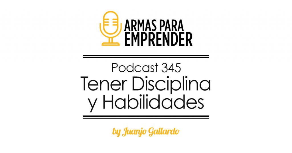 como tener disciplina y mejorar habilidades