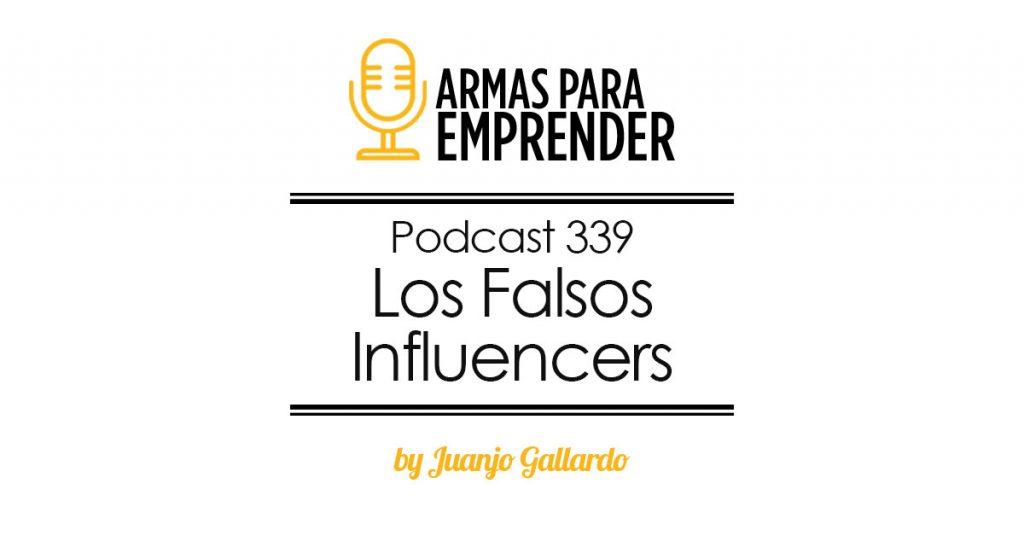 los falsos influencers